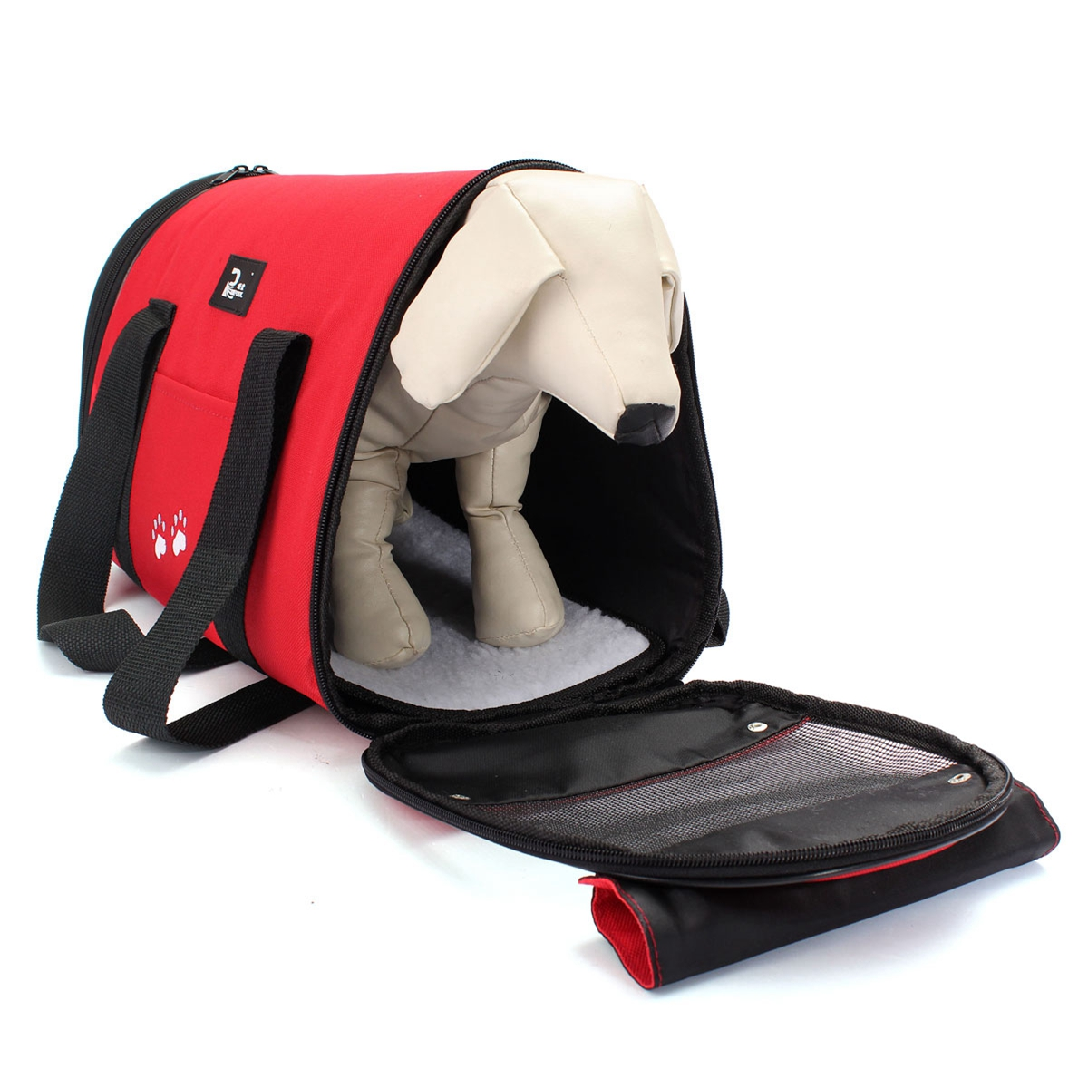 L Waterproof Portable Dog Carrier Foldable Pet Bag Cat Travel Kennel Case Cage Tent