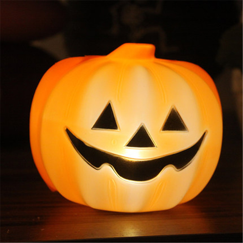 Halloween LED pumpking lampada cranio halloween decorazione del partito