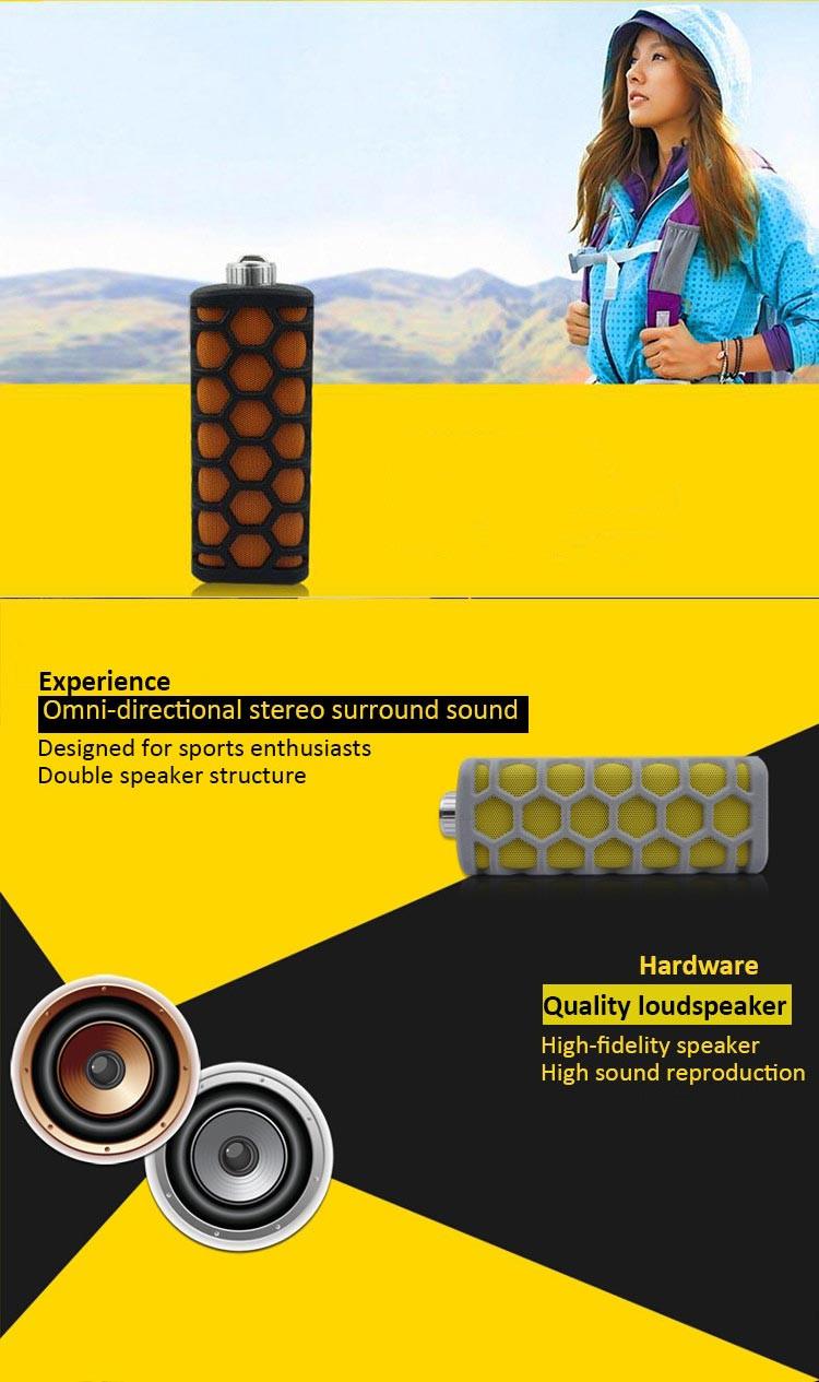 - un dc- 932 altoparlante esterno Bluetooth impermeabile sportiva antiurto portatile senza fili stereo
