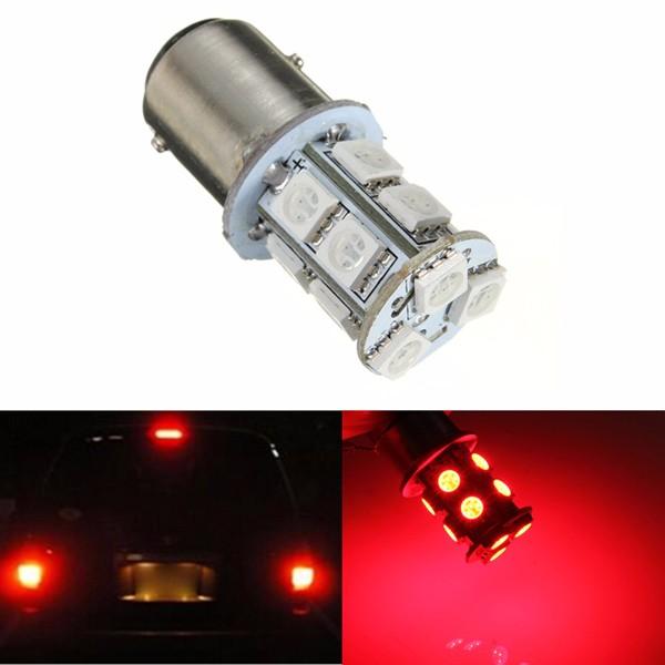 1.3w rosso 1157 presa BAY15D 13 5050 SMD LED direzione anteriore lampadina segnale