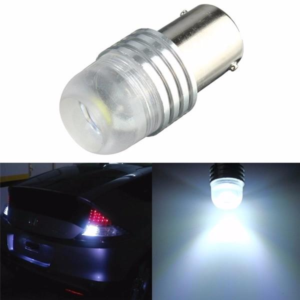 Luz branca do reverso do bulbo do carro da CC 12V 1156 BA15S P21W LED de 3W