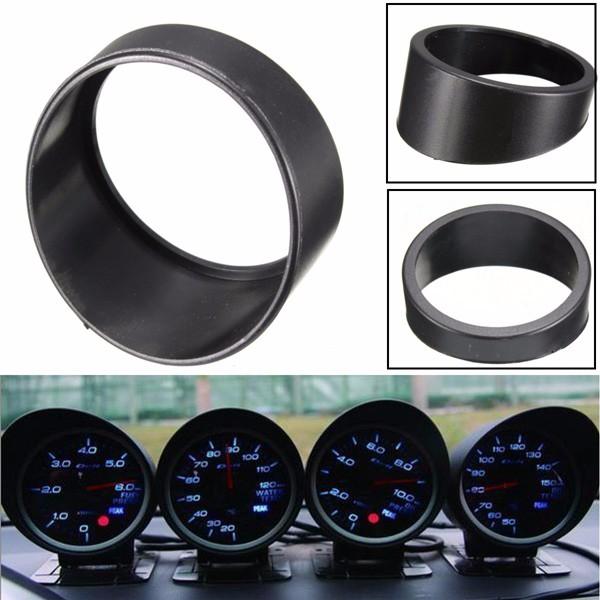 Universal Araba Siyah Ölçer Visor Cap, 52MM / 2inch Yağ Basınç Ölçerlerine uyar