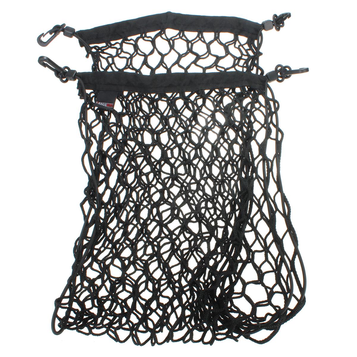 90x30cm Siyah Nylon Araba Bagaj Arka Kargo Düzenleyici Depolama Elastik Mesh Net