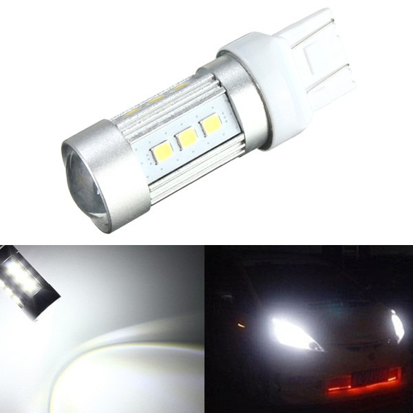 7443 2835SMD 15LED 780LM White Backup Reverse High Power LED Light Bulb