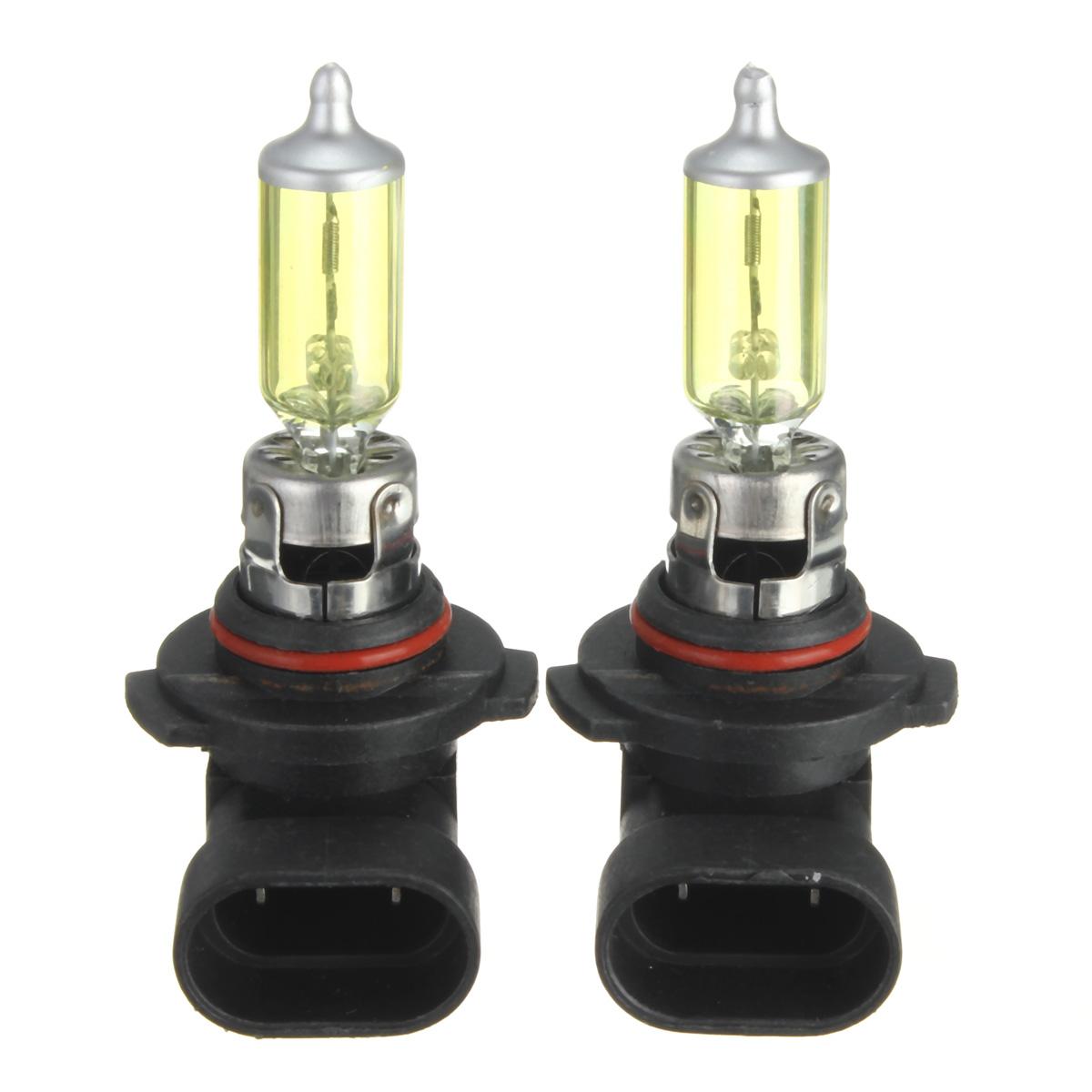 Un paio di h10 42w ha nascosto lampade di lampadine xenon dc12v 3000k-3500k giallo