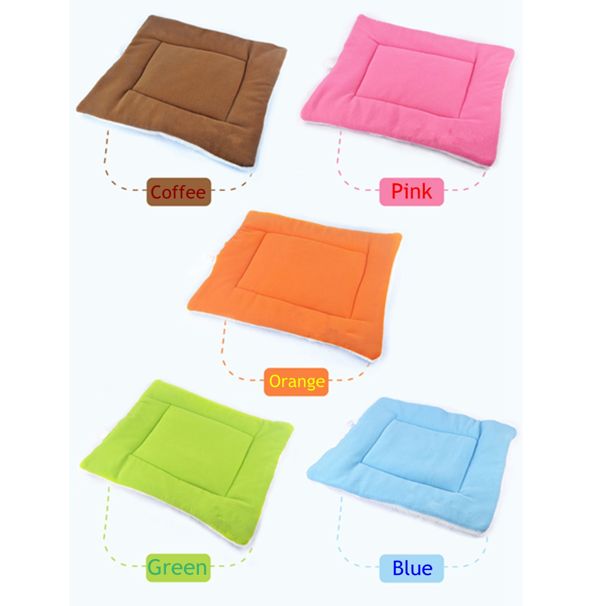 Pet Cat Puppy Dog Warm Kennel Mat Wasbaar Hondenkussen