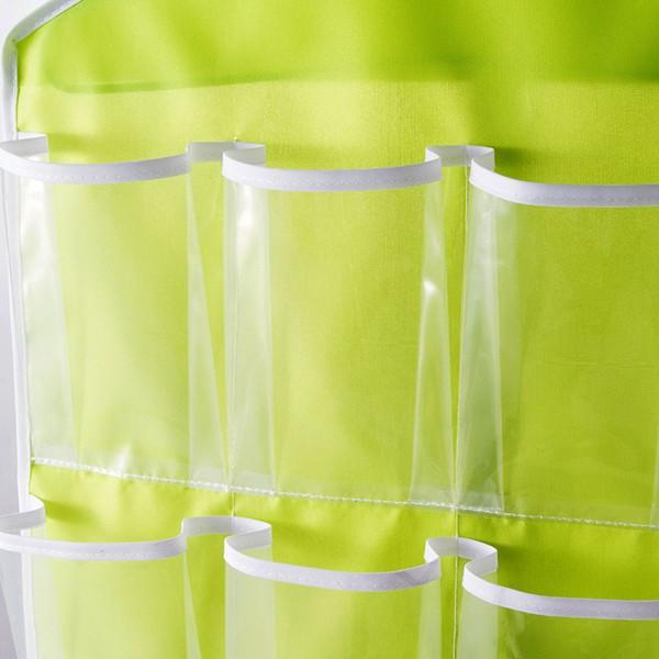 16pockets oxford rack support de sac de rangement de garde-robe de chaussures placard et organisateur suspendu
