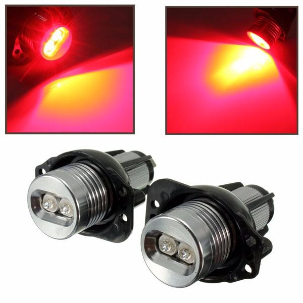 12v LED l'aureola di occhi di angelo di fanale suona la luce rossa di lampada di bulbo per bwm e90 e91
