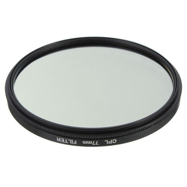52mm-77mm Phot Digital Slim CPL-Zirkularpolarisator Polarisationsfilter CPL-Polarisator für Canon Nikon