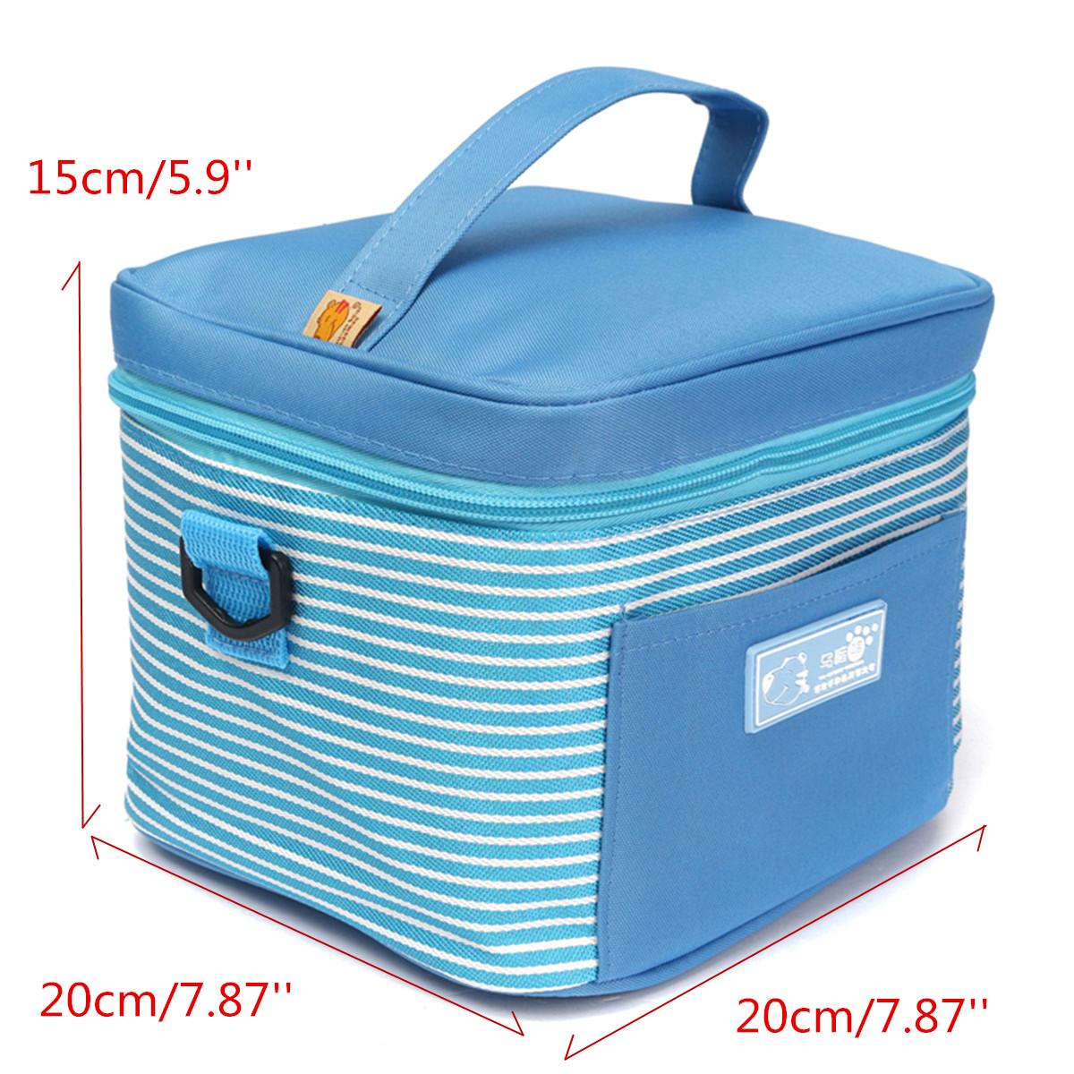ببساطة معزول الحرارية حقيبة الغداء برودة حقيبة نزهة حقيبة تخزين السفر