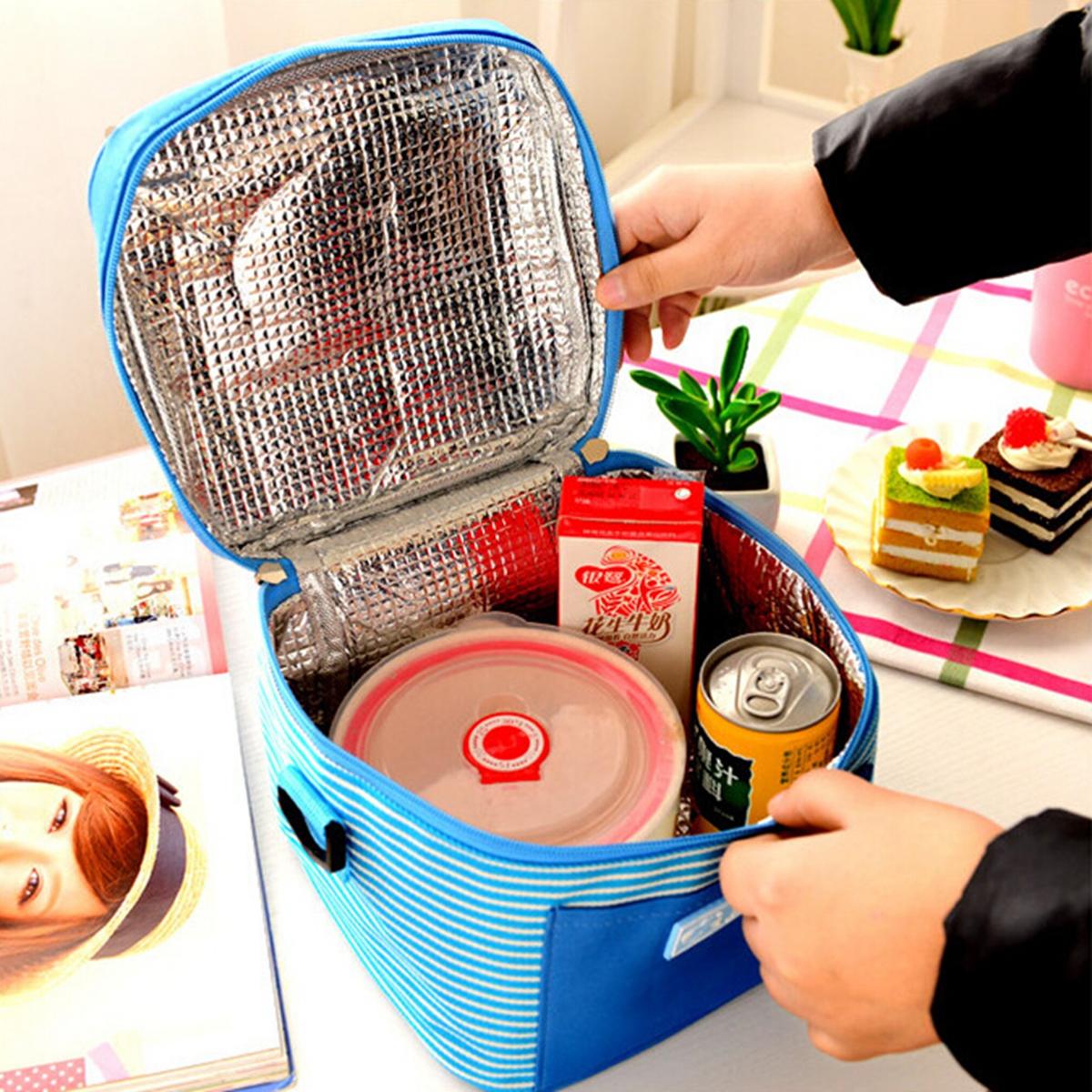 simplesmente isolados saco de armazenamento piquenique saco de viagem saco térmico almoço térmica