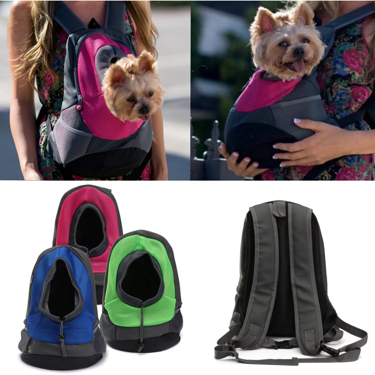Dog Carrier Cat Puppy Mesh Pet Travel Bag Backpack Double Portable Shoulder At Banggood Sold Out