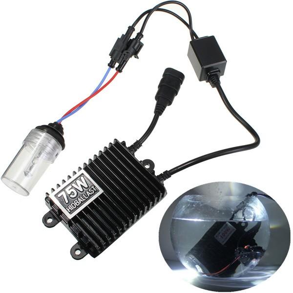 L'auto 75w ha nascosto la lampada di bulbi di zavorra di CA di equipaggiamento h1 xenon 4300k-12000k