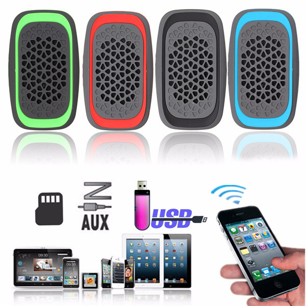 Y15 Portable Wireless Bluetooth 3.0 Speaker Music Stereo Support FM TF with Mic For Phone Laptop MP3