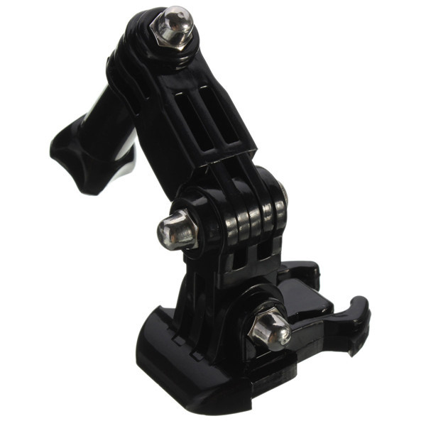 Tre vie base di montaggio regolazione fascia toracica elastica per eroe GoPro 3 più 4 xiaomi yi sj4000 sj5000 sjcam