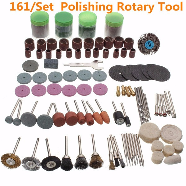 161pcs Rotary Tool Accessories Bit Set
