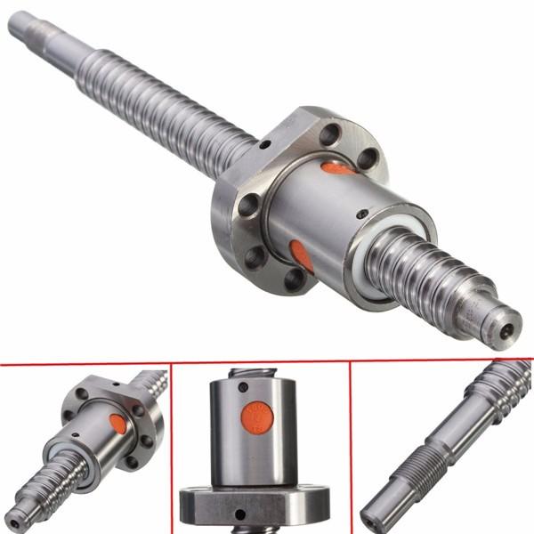 250mm Ballscrew with Single Ballnut for CNC