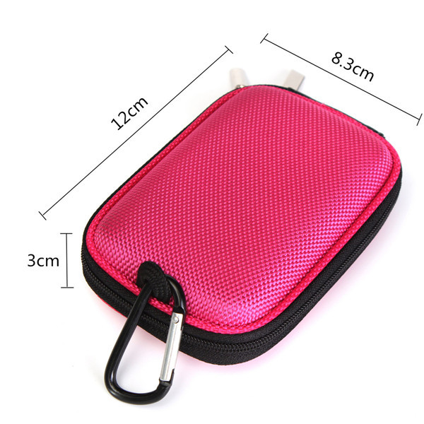 Hard Nylon Shockproof Compact Digital Camera Protective Hard Case Bag For Nikon Canon Sony Samsung