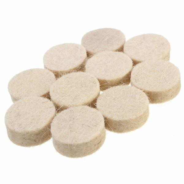34pcs 1/8 Inch Wool Polishing Buffing