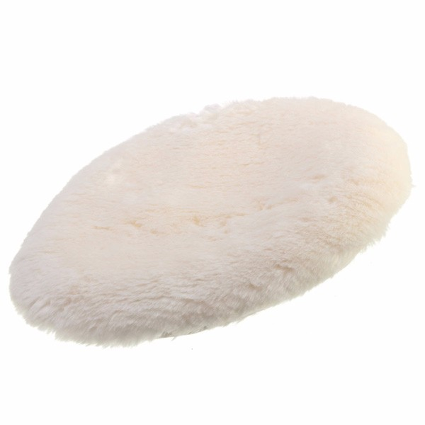 9 pollici spugna morbida macchina lucidatrice ceretta lucidatura detergente tampone agnelli batuffolo