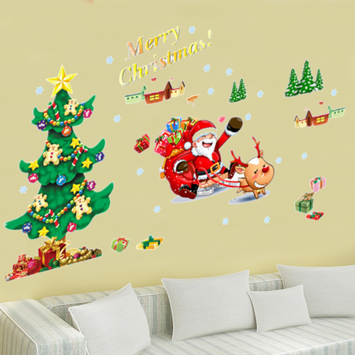 Amazing Merry Christmas Wall Decor Images - The Wall Art Decorations ...