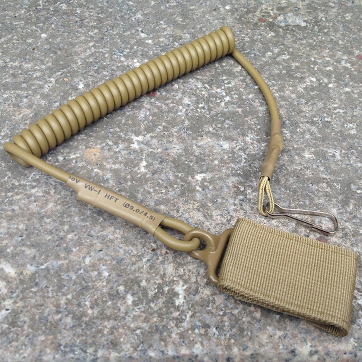 Outdoor Military Tactical Spring String Buckle Sleutelhanger Snoer Carabiner Hook Strap Snoer