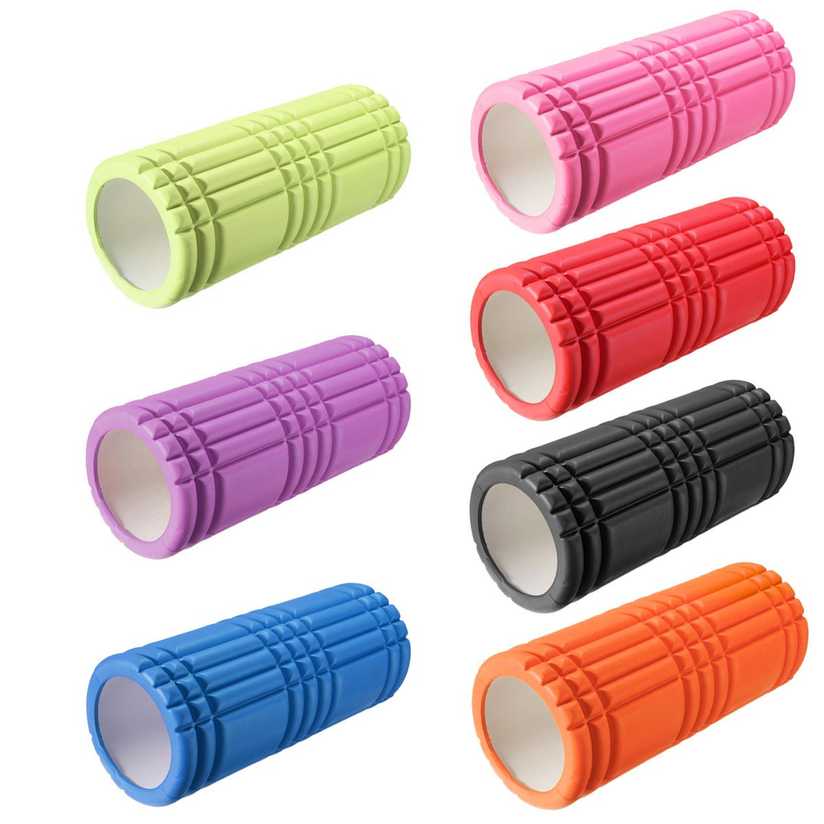 Sports Fitness Yoga Staven Hollow Foam Roller Massage Gym Oefeningen Body Building