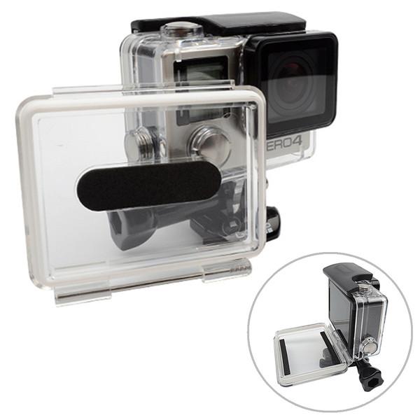 شفافة للماء مستتر غطاء الإسكان 30 متر الغوص القضية ل GoPro بطل 4