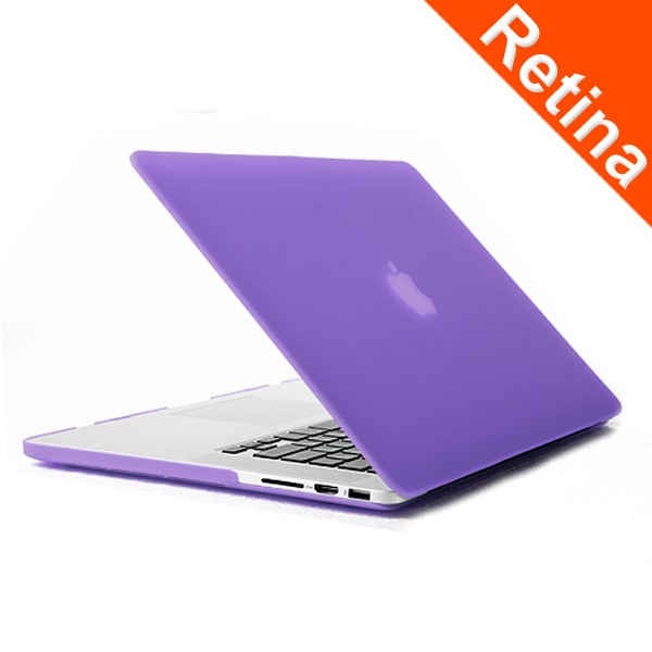 Cover Logo Frosted Surface Matte Hard Cover Laptop Protective Case For Macbook Pro Retina 15.4 Inch
