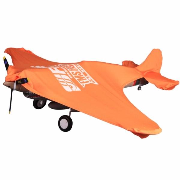 FMS RC Airplane Orange Protective Cover Sunshine Shield
