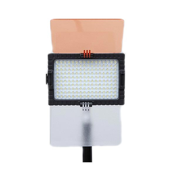 Falcon Eyes DV-160V CRI95+ 5500K 160 LED Bulb Video Lighting With 2200mAh Battery and Charger For Canon Nikon