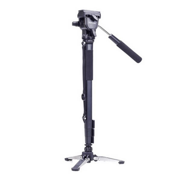 Yunteng VCT-288 Monopod Tripod  With 3 Legs Unipod Holder and Phone Clip For DSLR Canon Eos Nikon