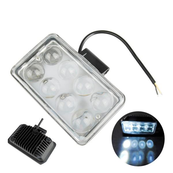 Araba 4inch 8LED 3W 1500LM LED Lamba Sis Lambası Çalışıyor Lamba Sel Falı Işığı