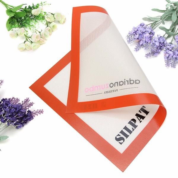 silicone cottura tappetino commestibile vetroresina antiaderente pasta cottura tappetino pad