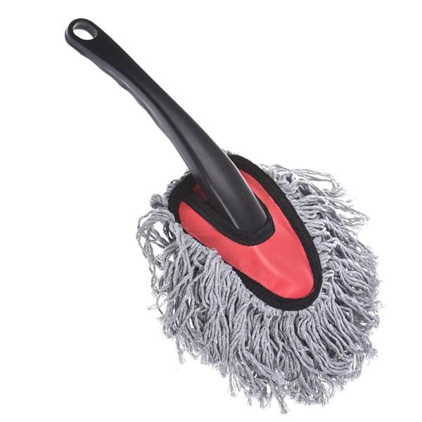 Cotone mini pulizia automobile pennello spolverino strumento spolverare pennello spolverino grigio