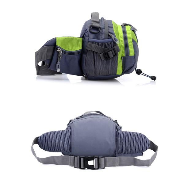La multifunzione di uomini di tanluhu viaggiare di poliestere di borsa di crossbody di sport all'aperto che dirige la tasca di vita