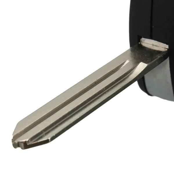 4 Düğmeler Uzakdan Kumanda Katlanır Flip Uncut Anahtar Anahtarsız Kılıf, Nissan Sentra Versa Altima için