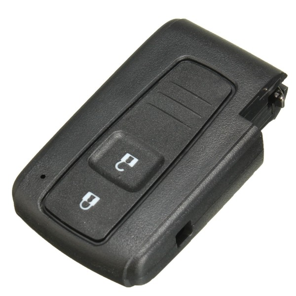 2 Buttons Smart Remote Key Keyless Entry Case Shell Fit for Toyota Prius