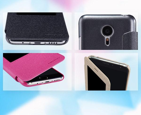 NILLKIN série éclat de protection étui en cuir pour Meizu MX5