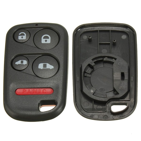 4Button+Panic Remote Entry Key Keyless Case Shell for Honda Odyssey