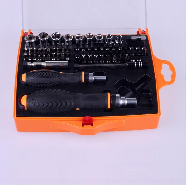 JAKEMY JM-6107 79 in 1 Professional Hardware Screwdriver Set Electronics Repairtools Ratchet Tool Set