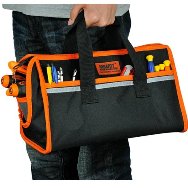 JAKEMY JM-B02 MediumProfessional Tool Bag MultifunctionalElectrician Tool Bag Medium 36x16x21cm
