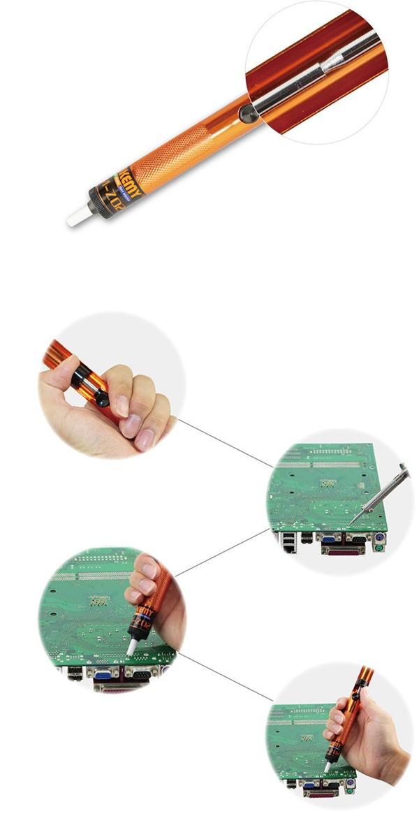 A solda de jakemy jm-z02 intruja instrumentos de reparo de telefone celular