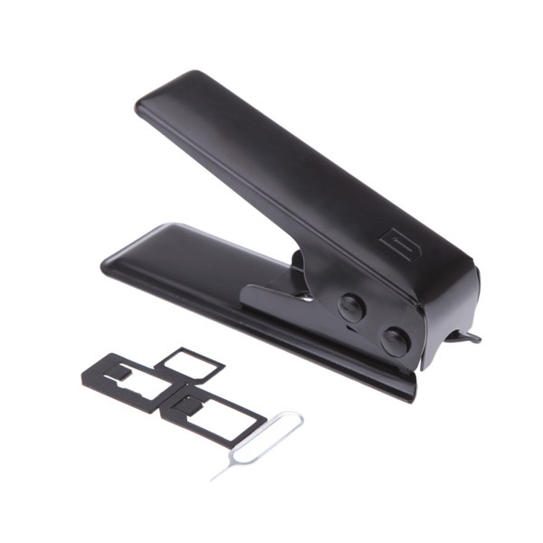 JAKEMY JM-CT0-12 Black Universal Micro Sim Card Cutter Set for iPhone Most Phone