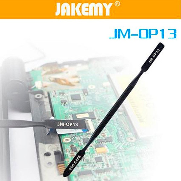 JAKEMY JM-OP13 Anti-static Pry Bar Metal Opening Tool Flex Cable Remove Tool