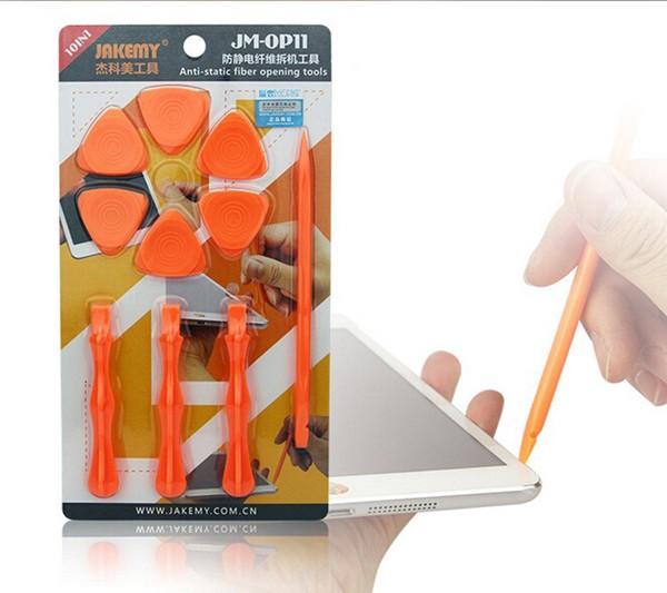 Jakemy jm-OP11 10in1 strumenti di apertura antistatici strumento di riparazione impostato per tablet cellulare