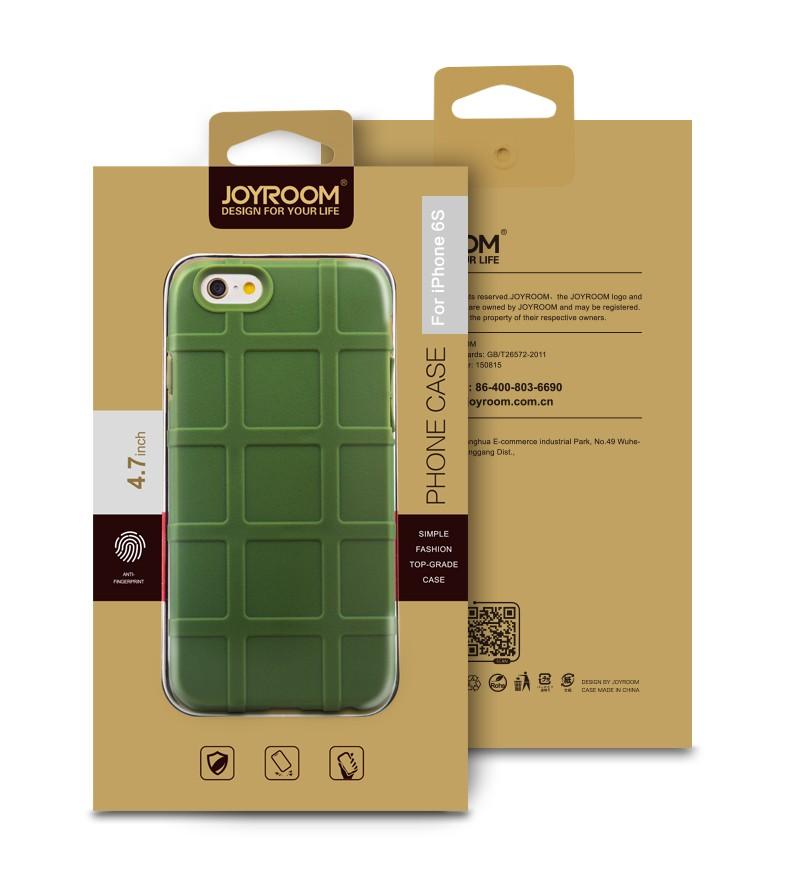 Joyroom Dikke Kettingbeveiliging Soft Rubber TPU Geval voor iPhone 6/6s