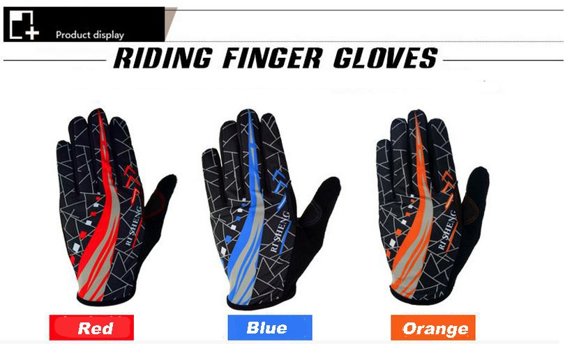Outdoor Fiets Fiets Handschoenen Sport Riding Gloves Full Fingers Handschoenen