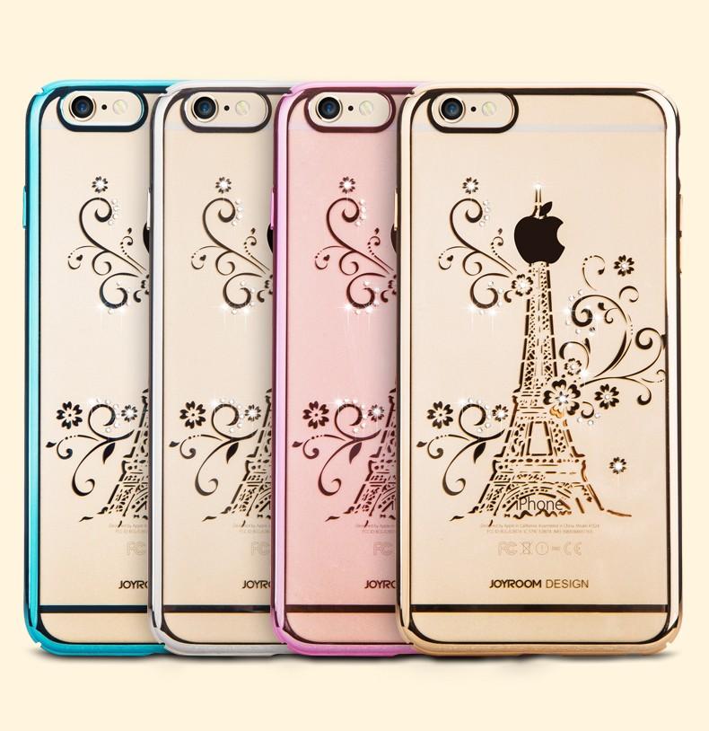 Clou di joyroom che tratta il caso di protezione di diamante con galvanostegia per l'iPhone 6 6s