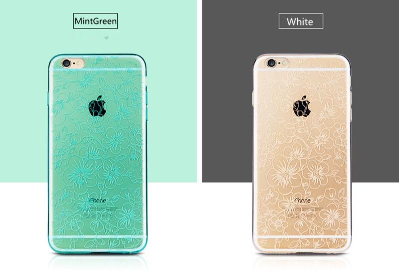 Joyroom رقيقة جدا شفافة مرنة تبو Soft القضية ل iPhone 6/6s